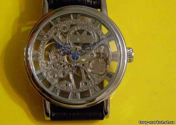 Часы скелетоны мужские/женские купить недорого в